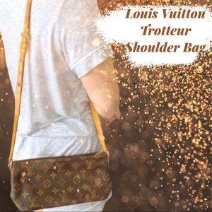 Louis Vuitton Trotteur Monogram Crossbody